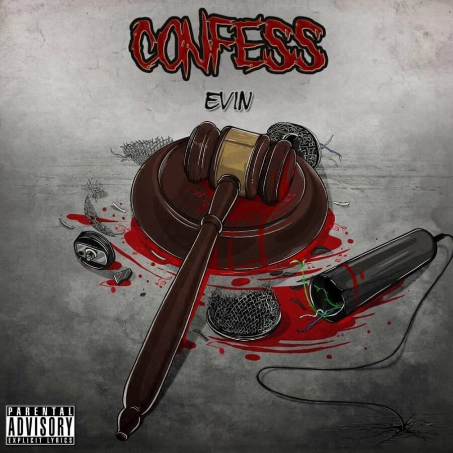Portada del sencillo Evin