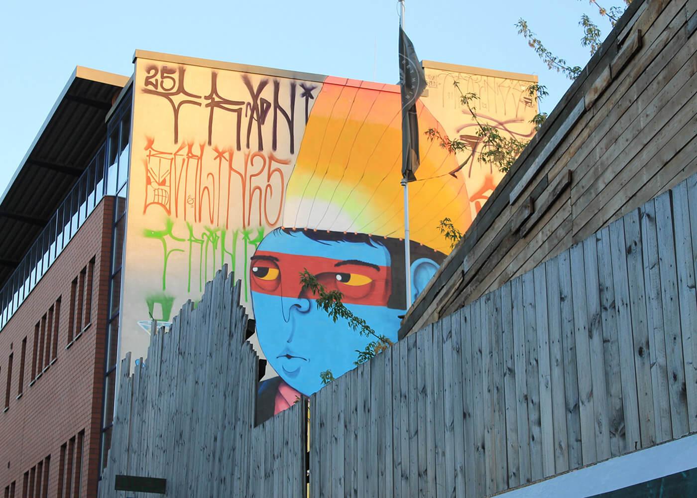 obra street art de Cranio