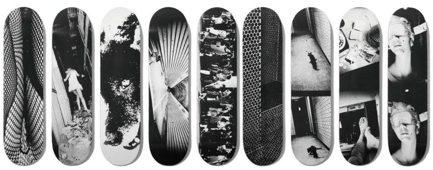 Daido Moriyama lanza mercancia skate