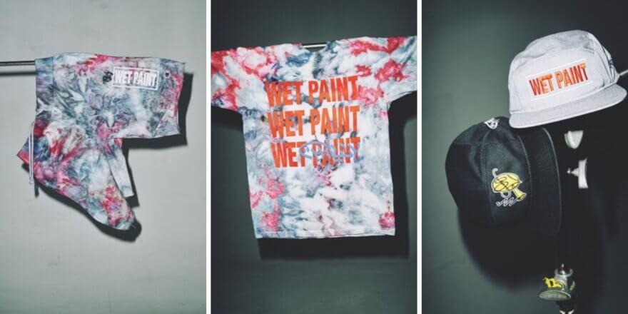 Dave Persue presentó su colección Wet Paint