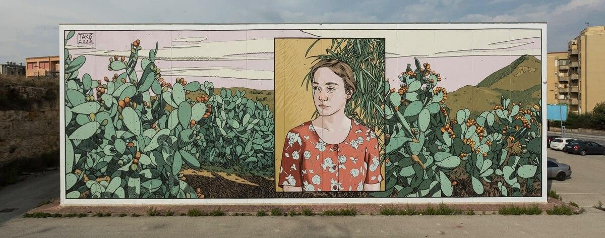 Dimitris Taxis y sus increíbles creaciones de street art