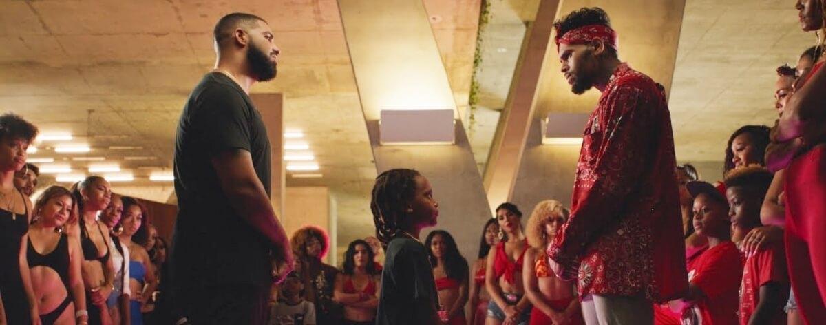 Drake y Chris Brown en duelo de baile en nuevo video
