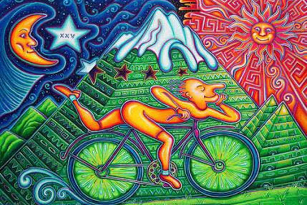 ilustración sobre el LSD y el día de la bicicleta