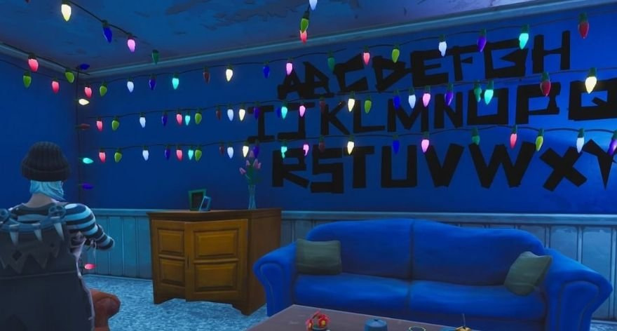 Aparecieron portales de Stranger Things en Fortnite