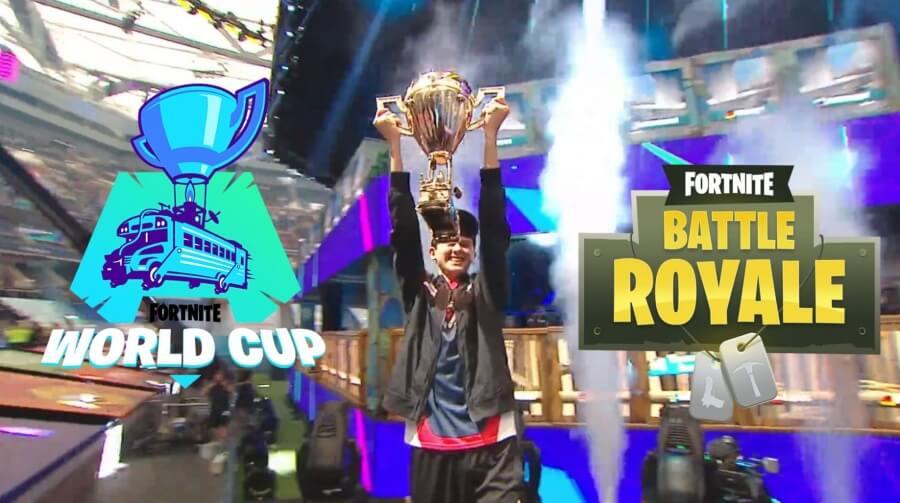 """Kyle """"Bugha"""" ganador del torneo"""