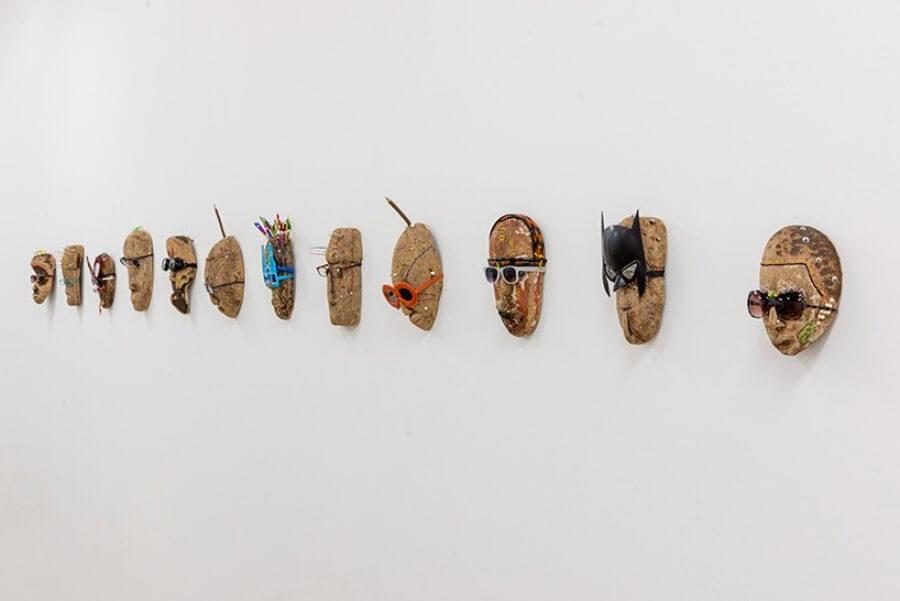 Obra de Pascale Marthine Tayou