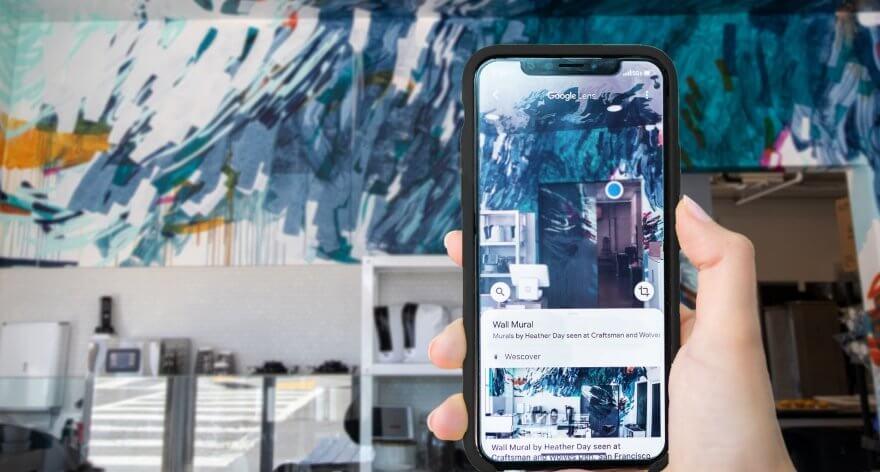 Aplicación móvil reconoce arte fuera de los museos