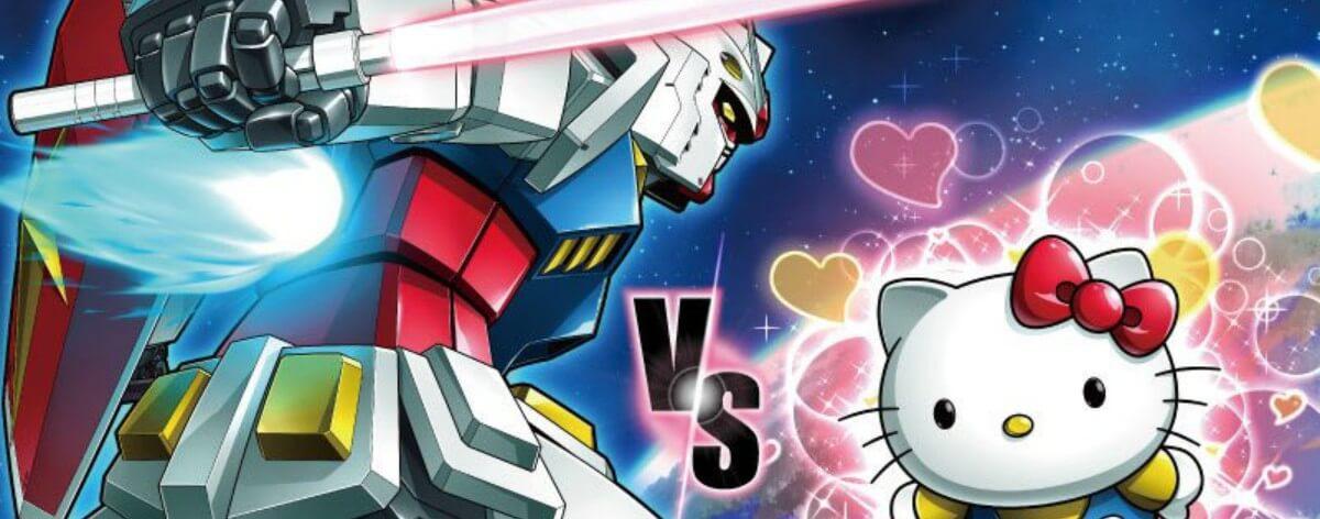 Gundam vs Hello Kitty lanzan un nuevo tráiler