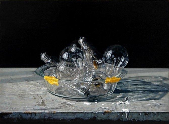 Hiperrealismo en las pinturas de Leng Jun