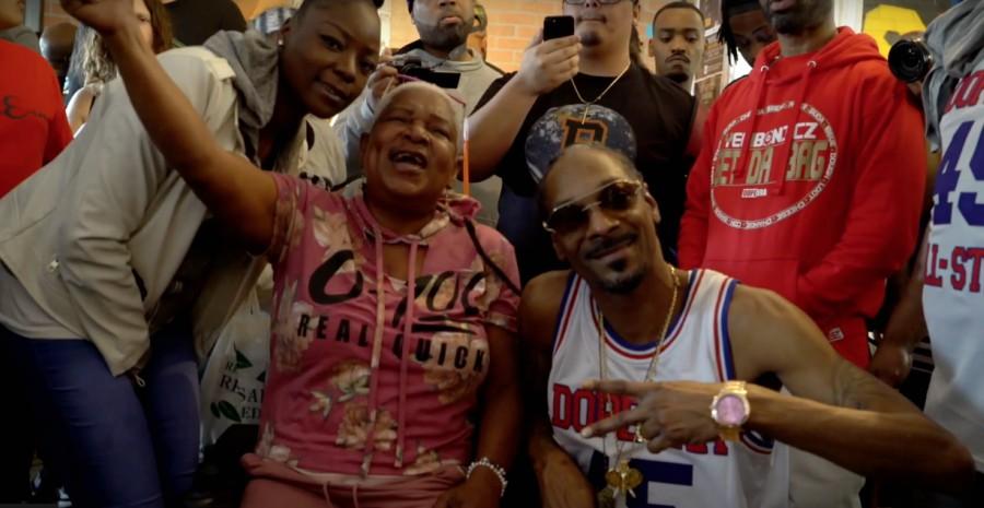 Fragmento del nuevo video de Snoop Dogg