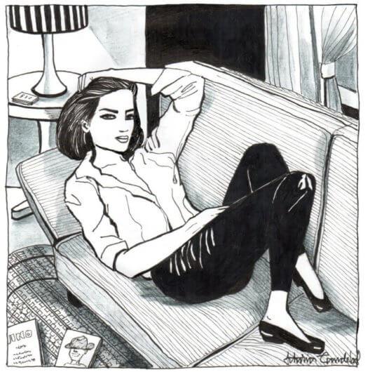 illustrations of single women