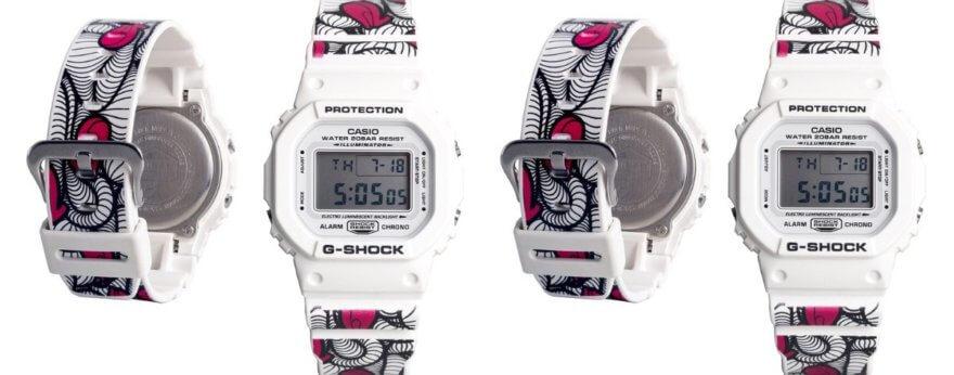 G-SHOCK y el artista INSA presentan nuevo reloj