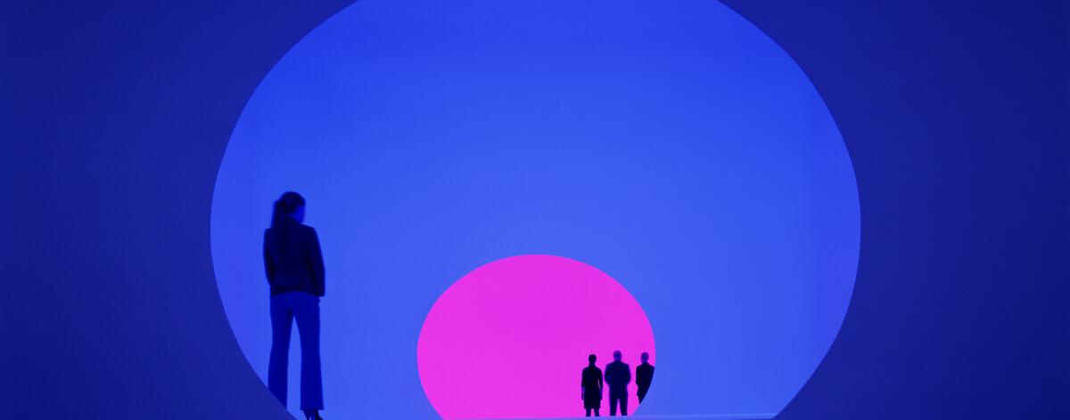 Exposición de James Turrell en el Museo Jumex