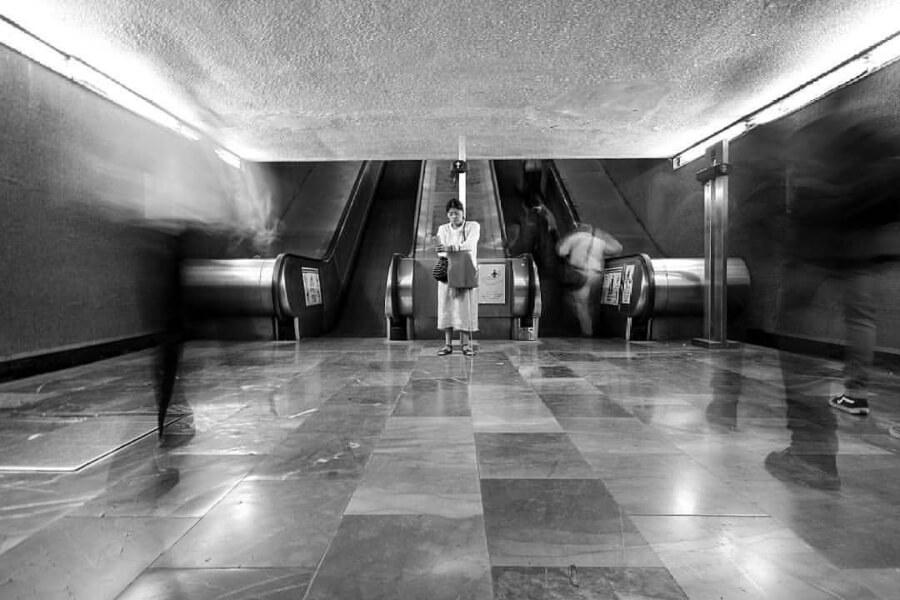 Perfil dedicado a captar imágenes del metro