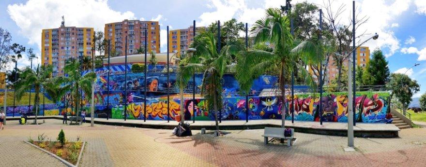 Los nuevos murales en el Metro de Medellín