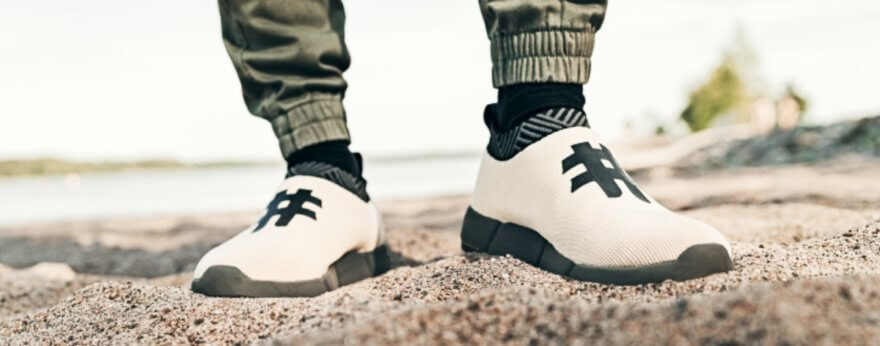 Los nuevos sneakers de Rens hechos de café reciclado