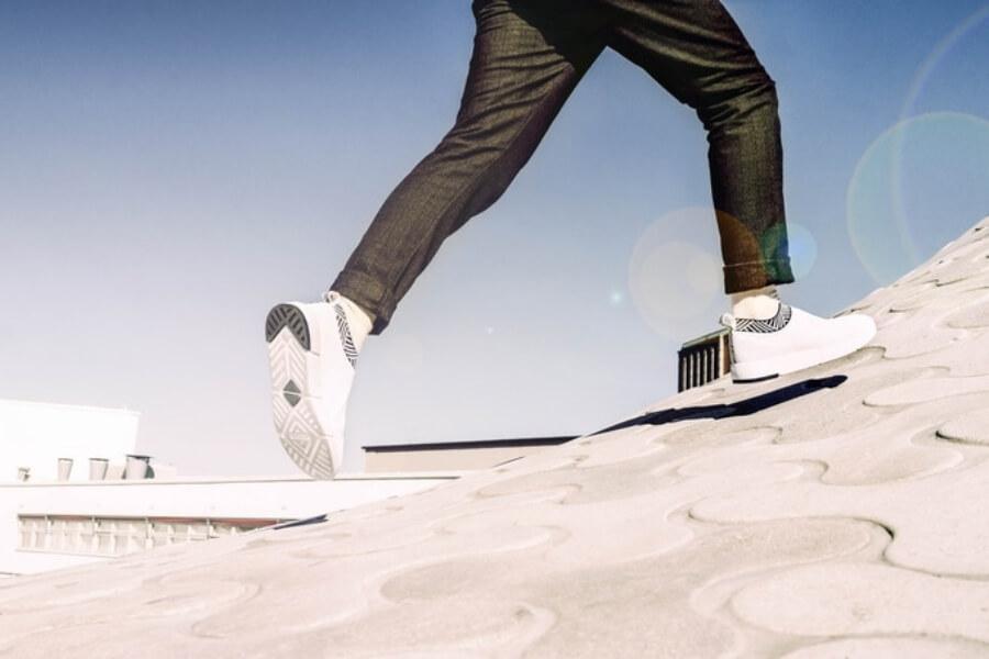 Los nuevos sneakers de Rens hechos de café