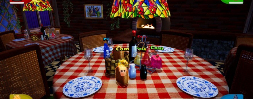 Lunch A Palooza, un juego de pelea de comida
