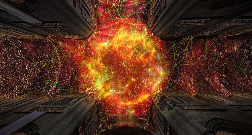 Miguel Chevalier crea instalación de supernova