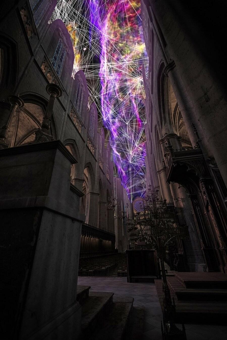 Nueva Instalación en la catedral de Rodez