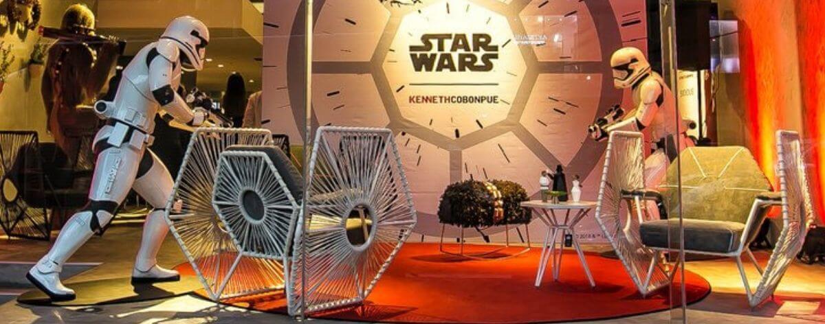 Kenneth Cobonpue y sus sillas inspiradas en Star Wars