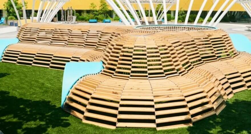 NEST, la nueva escultura didáctica de madera reciclada