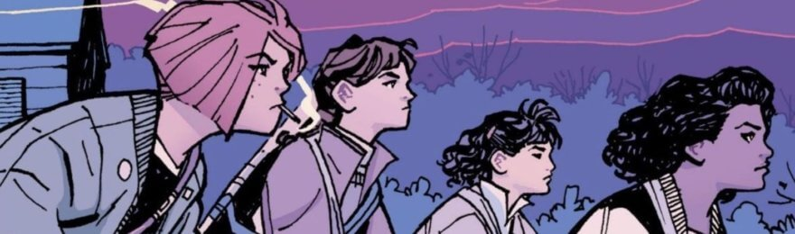 Paper Girls, el cómic que reemplazará a Stranger Things