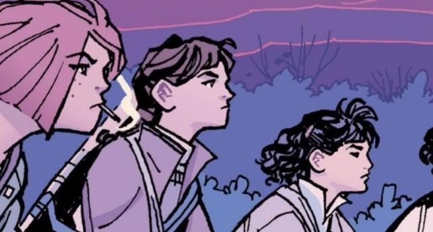 Paper Girls, el cómic que reemplazará a Stranger Things