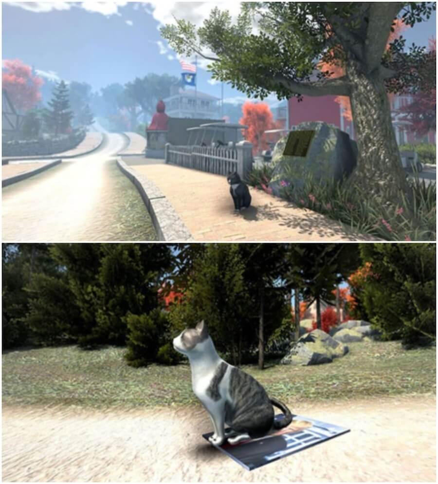 Los gatos son los protagonistas de este videojuego
