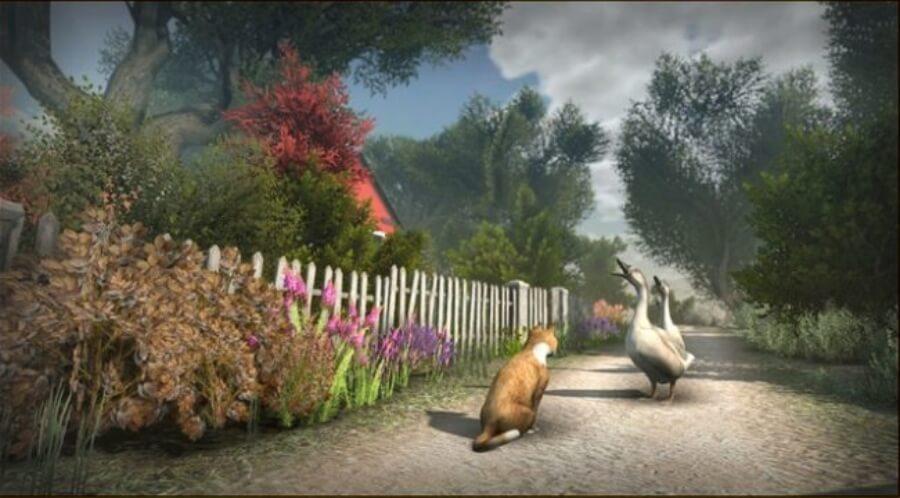 Peace Island el videojuego donde te convertiras en gato