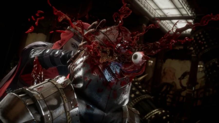 Escena del videojuego de Mortal Kombat