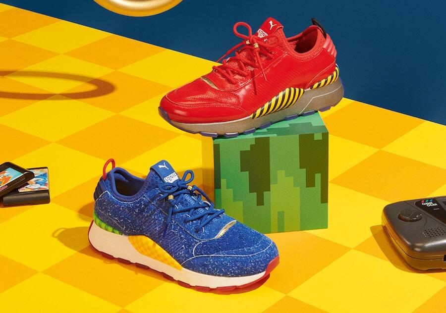 Sneakers de Sonic