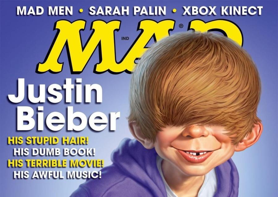 Justin Bieber en portada