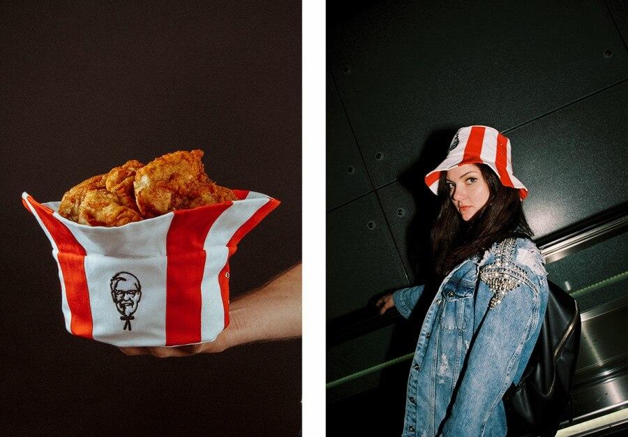 Sombrero KFC de Mam Cupy