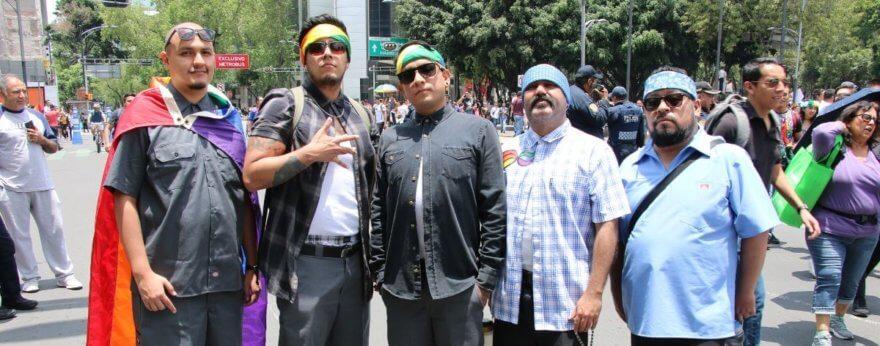 Streetstyle en la marcha Pride en CDMX