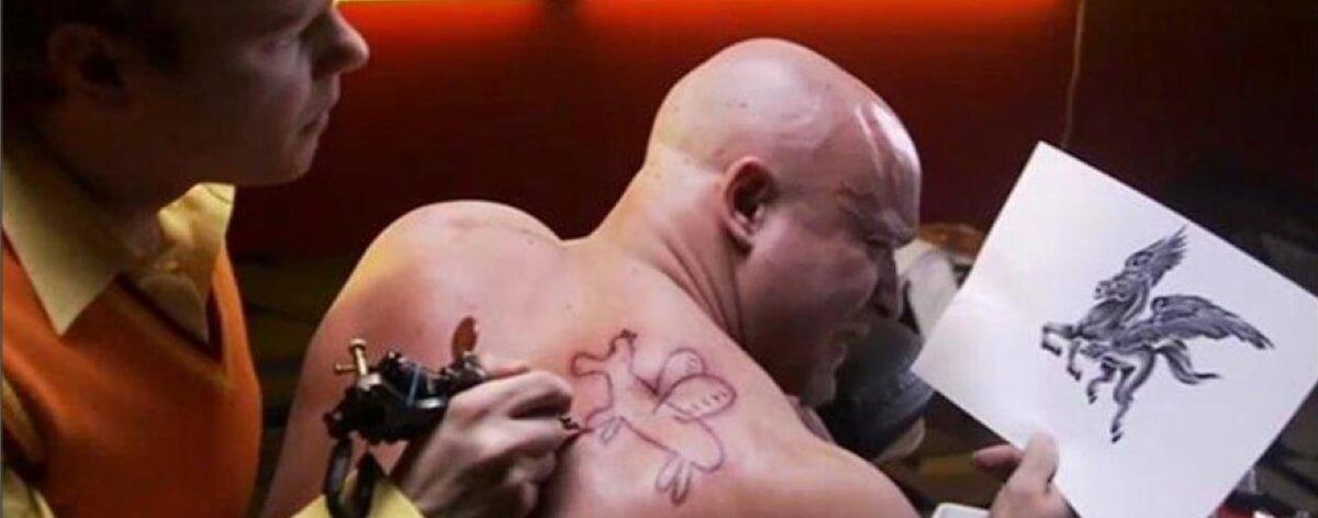 Tatuajes feos en los rincones de Internet