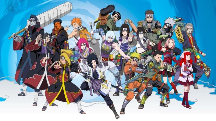 Personajes del anime naruto