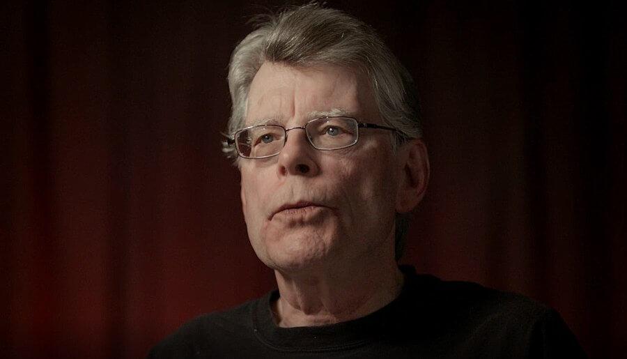 Retrato de Stephen King