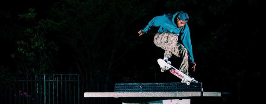 Tyshawn Jones, a future for skateboarding