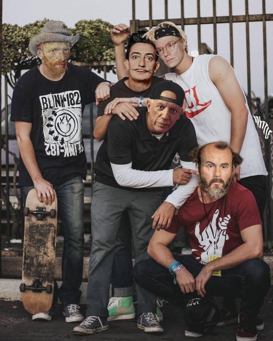 Gang skater
