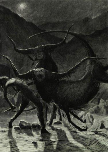 Vergvoktre: las pesadillas y el misterio hechos pintura