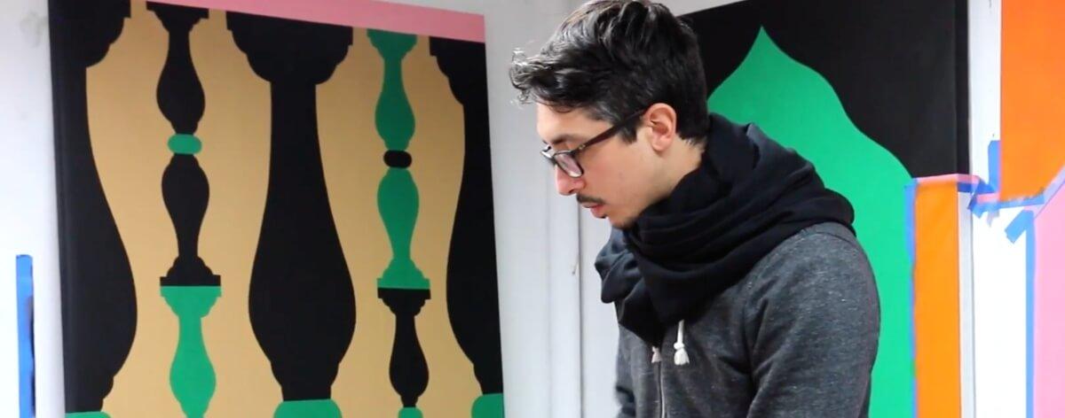 Agostino Iacurci y la inspiración del color