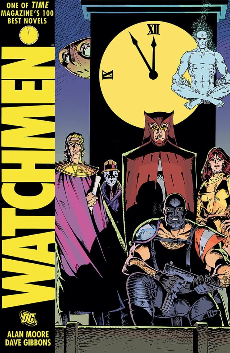 Ejemplar de Watchmen