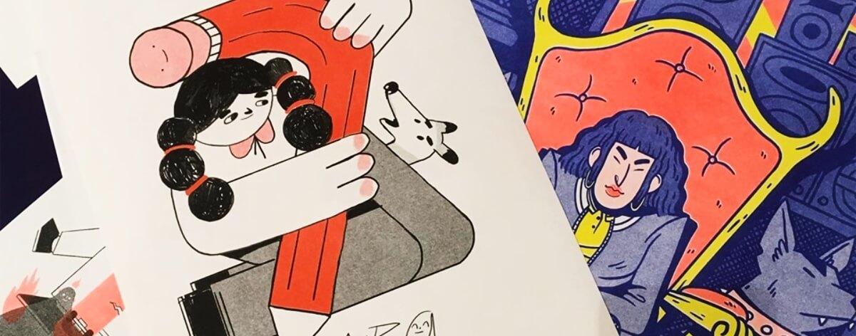 Casa Nawala presenta exposición de ilustradores