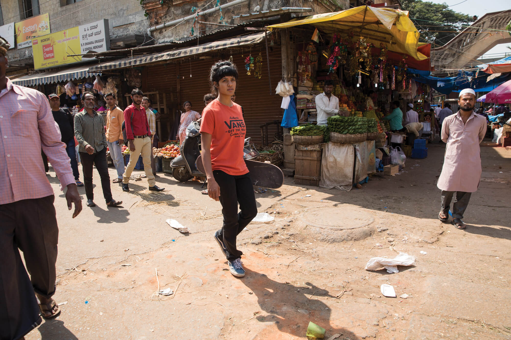 Atita Verghese in India for Vans