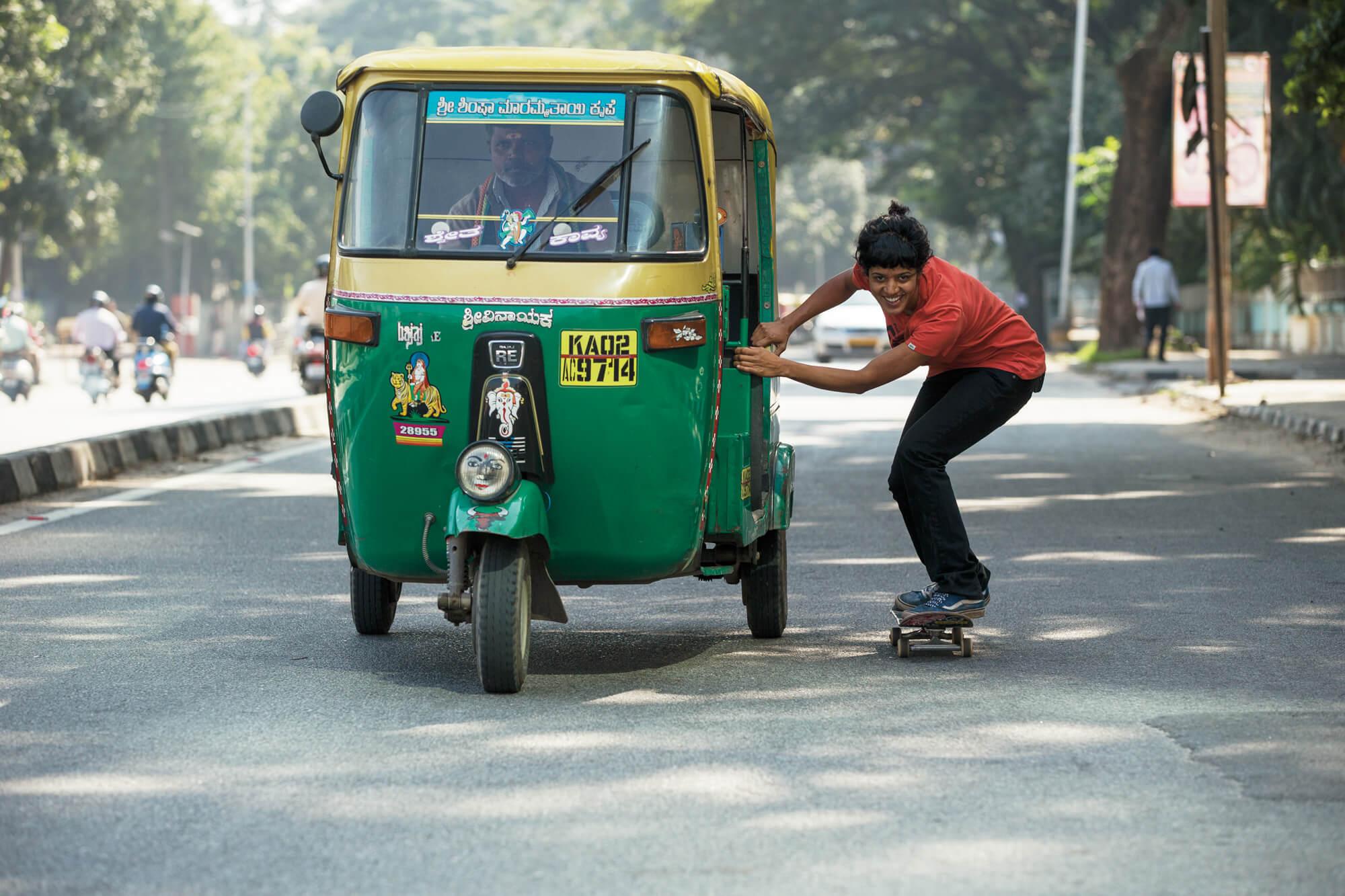 Atita Verghese in India