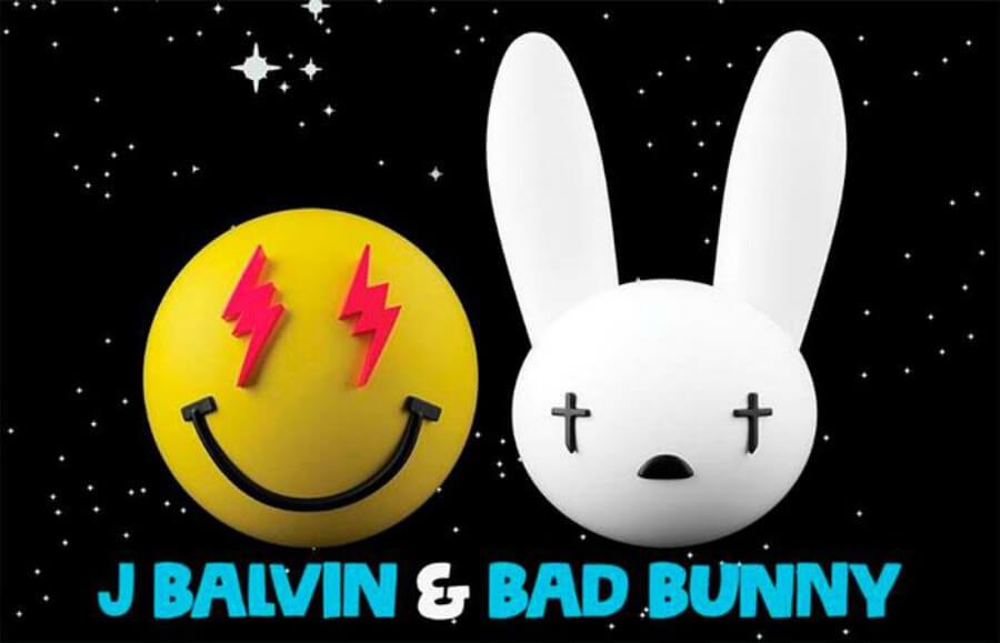 J Balvin y Bad Bunny