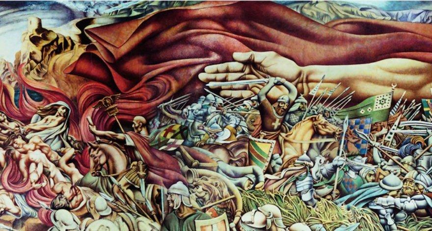 Exposición de Siqueiros y Renau: muralismo y exilio