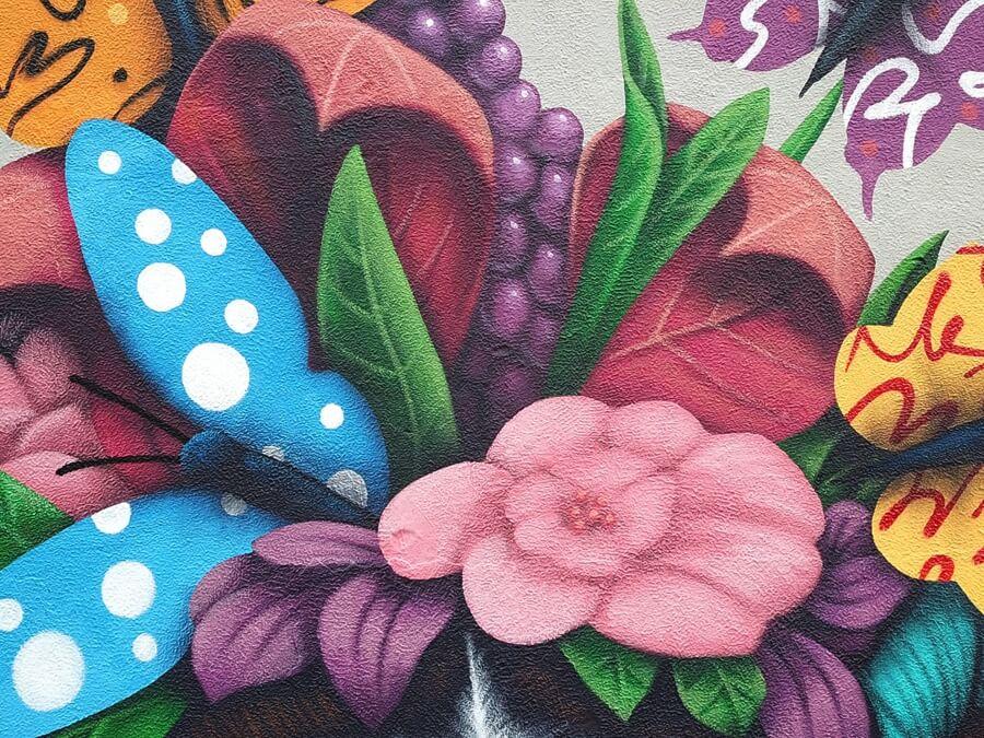 Mural en Avenida Chapultepec