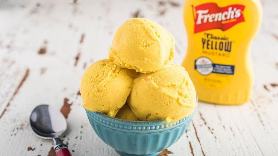 El nuevo helado de mostaza